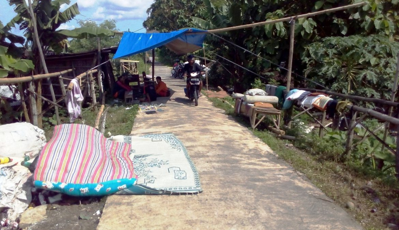 Tiga Hari Pasca Banjir Bengawan Solo Warga Telah Beraktivitas Normal