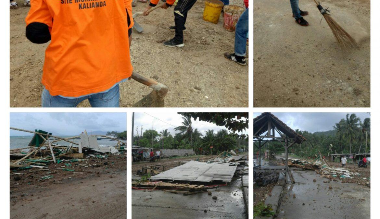 Tim SAR Mapala Cari Korban Bencana Badai Dahlia di Kunjir Lampung Selatan
