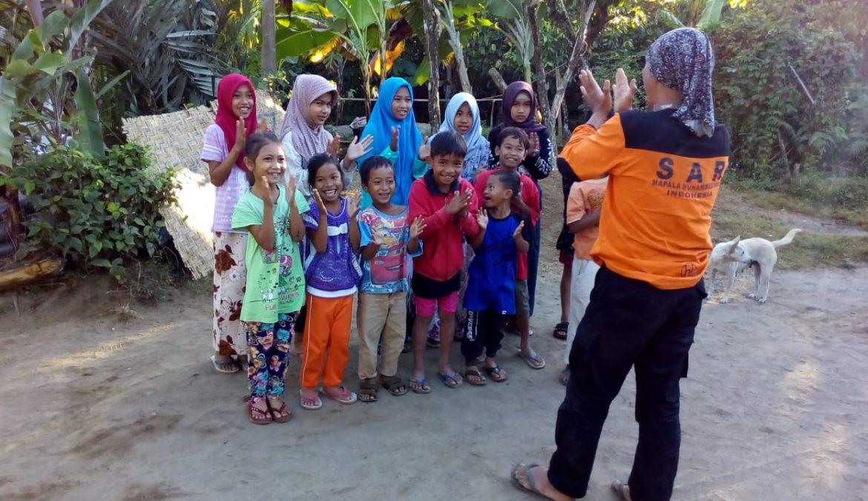 Bocah Pengungsi Bercita-cita Menjadi Tim SAR