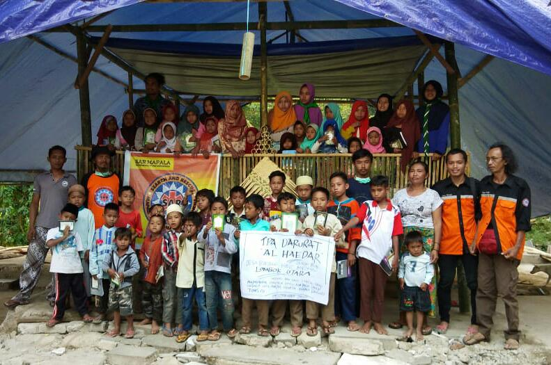 """SARMMI Dirikan """"TPA Al Haedar"""" di Dusun Terpencil Lombok Utara"""