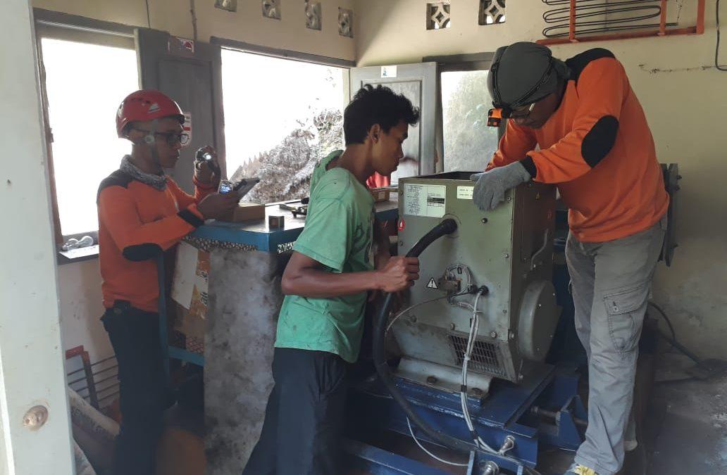 Relawan SARMMI Berhasil Menghidupkan Pembangkit Listrik Tenaga Hidro Di Lombok Utara