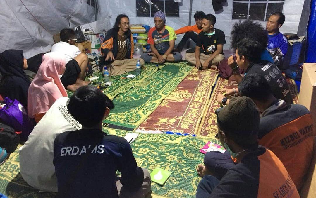 SARMMI Selalu Melakukan Kordinasi dan Evaluasi Dalam Setiap Gerakan Kemanusiaan Di Lombok