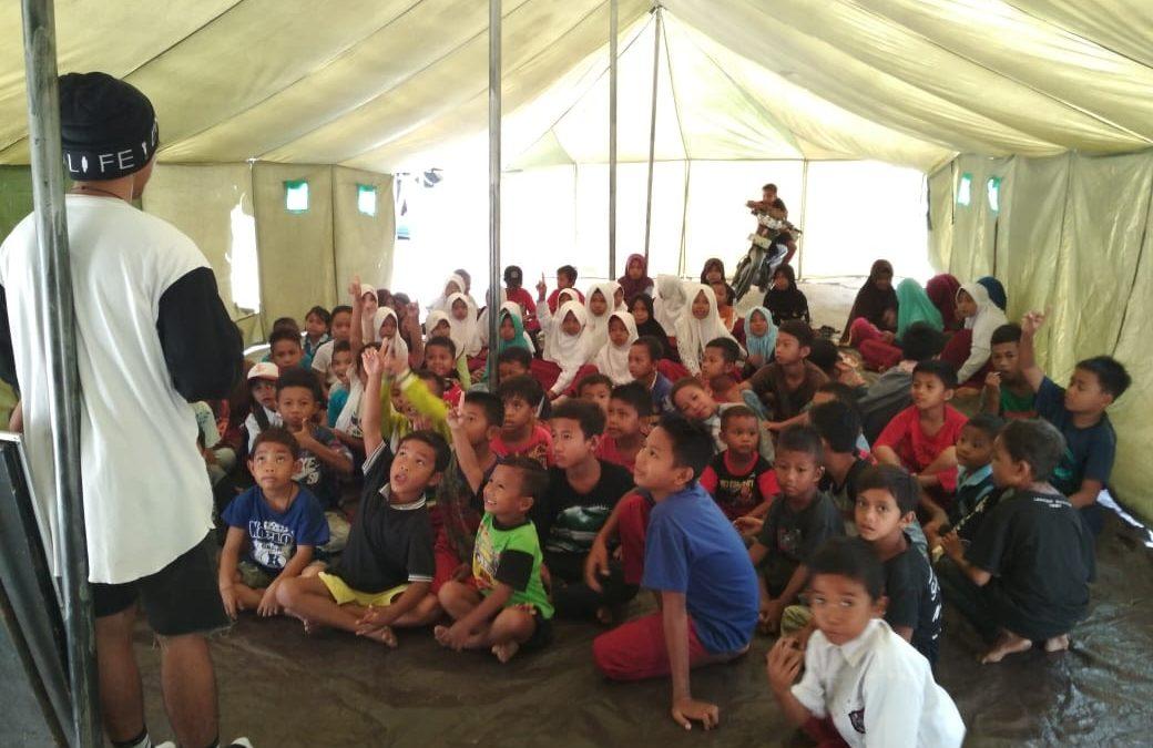 Dusun Salua Kabupaten Sigi Menjadi Wilayah Pertama Operasi Kemanusiaan SARMMI