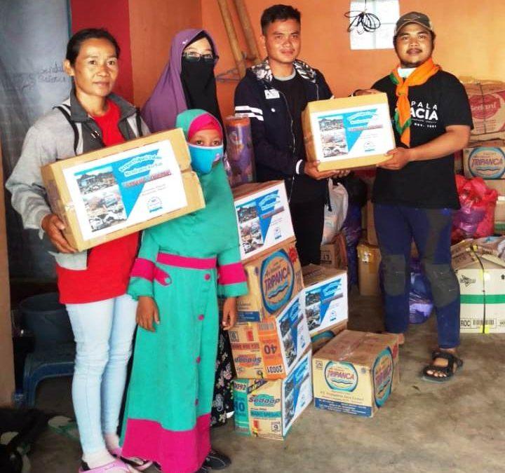 Sahabat Taiwan Bantu Korban Tsunami di Desa Kunjir