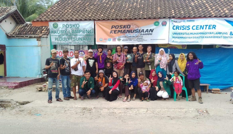 SARMMI dan Mitra Sinerginya Resmi Mengakhiri Operasi Kemanusiaan di Desa Kunjir Lampung Selatan