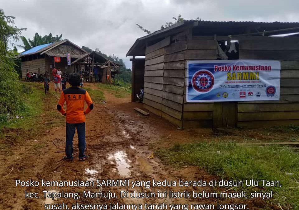 Relawan SARMMI Dampingi Warga Desa Terisolir Korban Gempa Mamuju