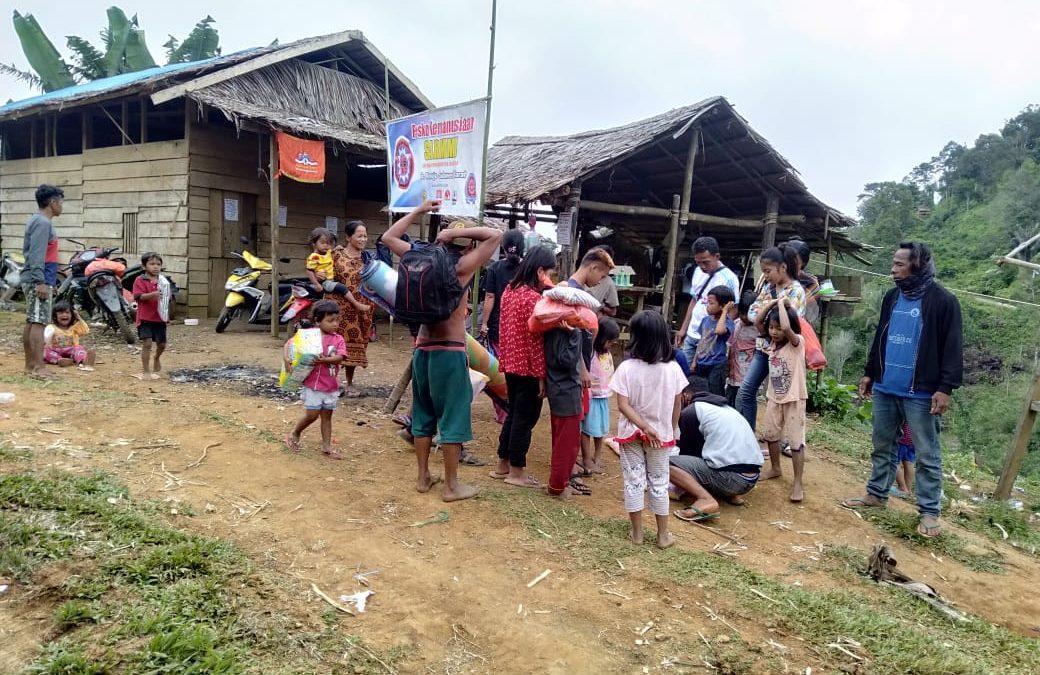 SARMMI dan On Sight Foundation Kerja Sama Dirikan TPA Darurat Di Desa Terpencil Korban Gempa Mamuju